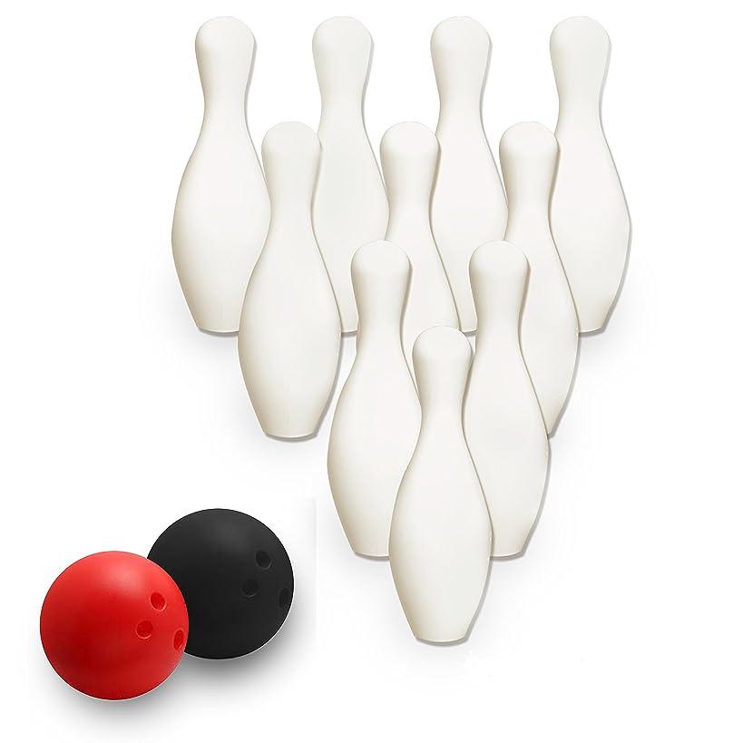 Zooma Jr. Sports Jumbo Bowling Set (Colors May Vary) Bowling Sports Toy