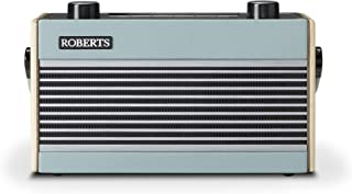 Roberts Rambler BT Retro/Digital Portable Bluetooth Radio with DAB/DAB+/FM RDS Wavebands - Blue