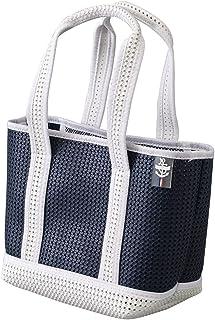 SPICE OF LIFE(スパイス) 鞄 ライトトートミニバッグ ネイビー 33×14×39cm EVA樹脂 軽量 耐水 メッシュ ランチバッグ PTLN1750NY
