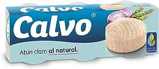 comprar comparacion Calvo Atún Claro Al Natural - 3 unidades x 80 gr, 240 gr