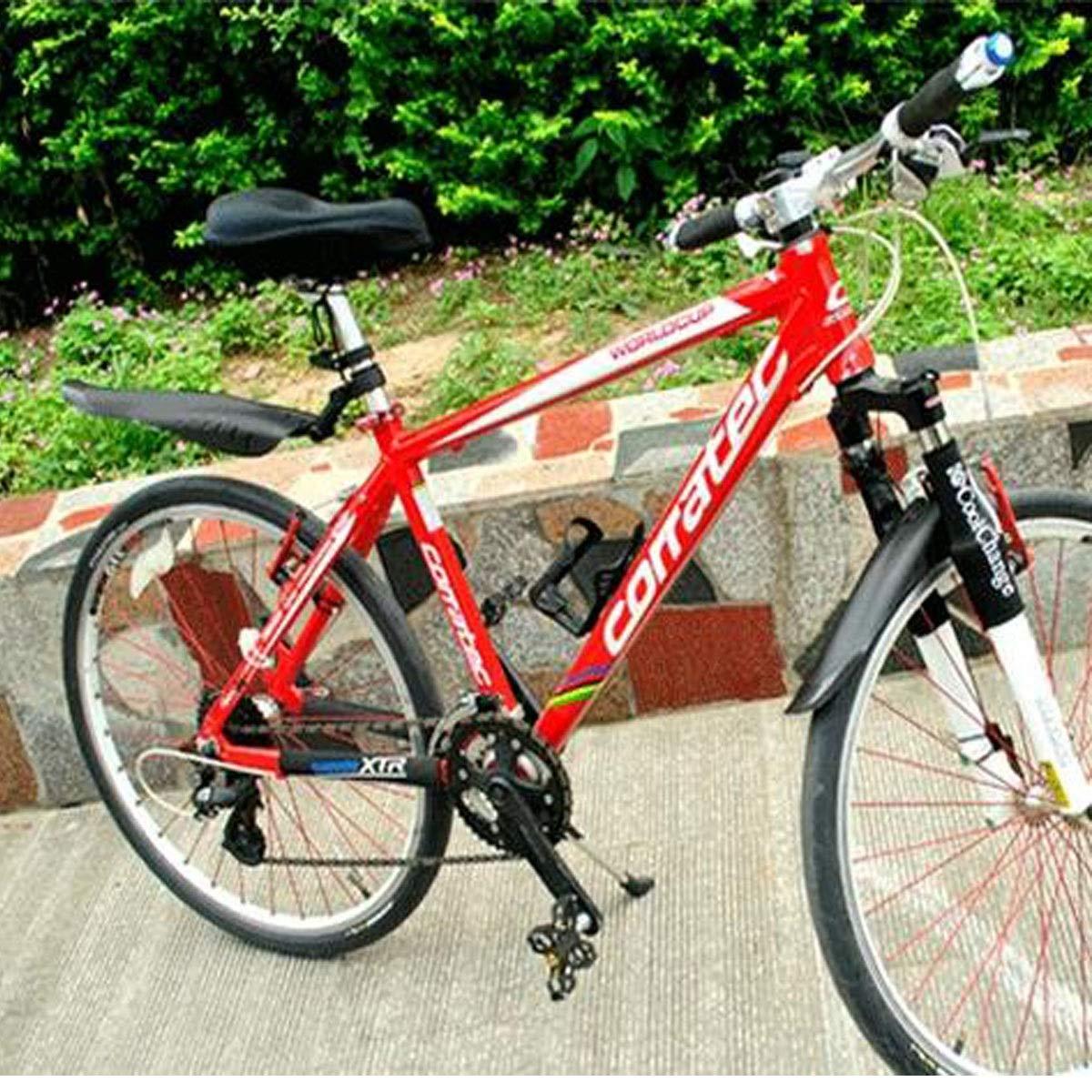 Qiyuezhuangshi01 Guardabarros de Bicicleta, Accesorios de ...