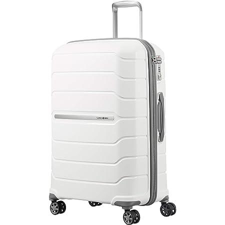 SAMSONITE Flux - Spinner 68/25 Expandable Bagage cabine, 68 cm, 95 liters, Blanc (Blanc)