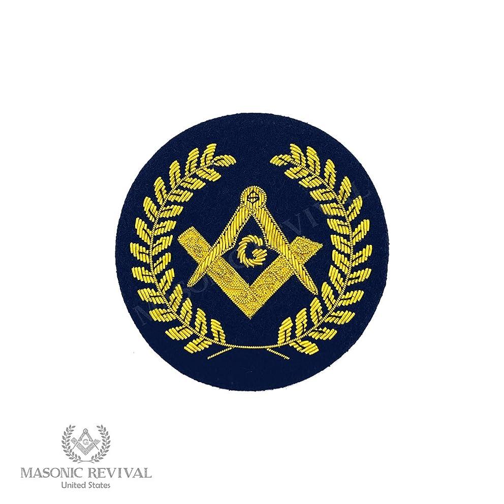 Masonic Revival - Insignia Gold Bullion Masonic Embroidery Patch