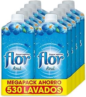 Flor - Suavizante para la ropa concentrado, aroma azul -
