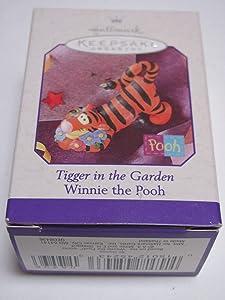 Tigger in The Garden Hallmark Winnie The Pooh