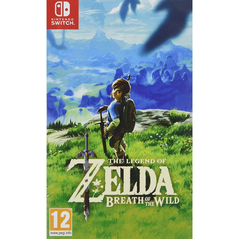 Legend of Zelda: Breath of the Wild (Nintendo Switch) : Amazon.in: Video  Games