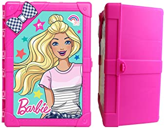 Barbie 8-Doll Multi-Compartment Storage Case with New and Improved Latch