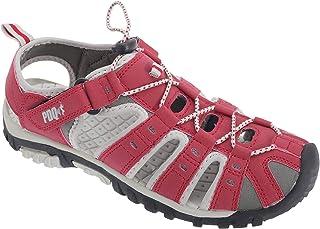 comprar comparacion PDQ- Sandalias deportivas con cordón y cintas con velcro para mujer