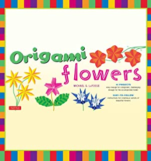Origami Flowers Ebook: Fold Lovely Daises, Lilies, Lotus Flowers and More!: Kit with Origami Books and 41 Projects: Great for Kids and Adults