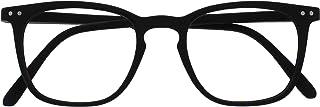 Opulize Bex Mannen Leesbril Groot Ontwerper Stijl Mat Zwart Bruine Schildpad R64