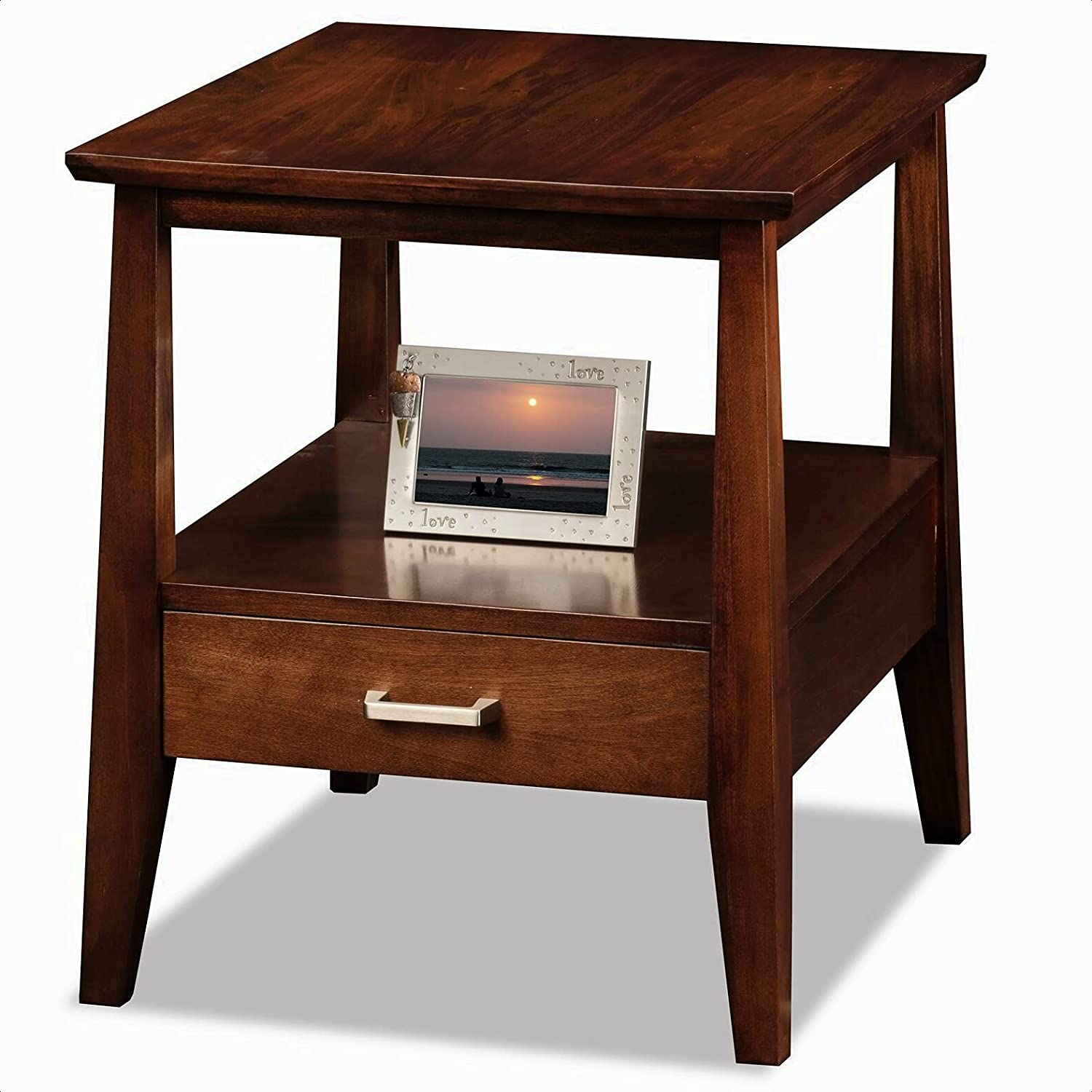 Hazleton End Table with Storage Drawer 11 Fixed price for sale x H New sales 3.5'''' Interior: