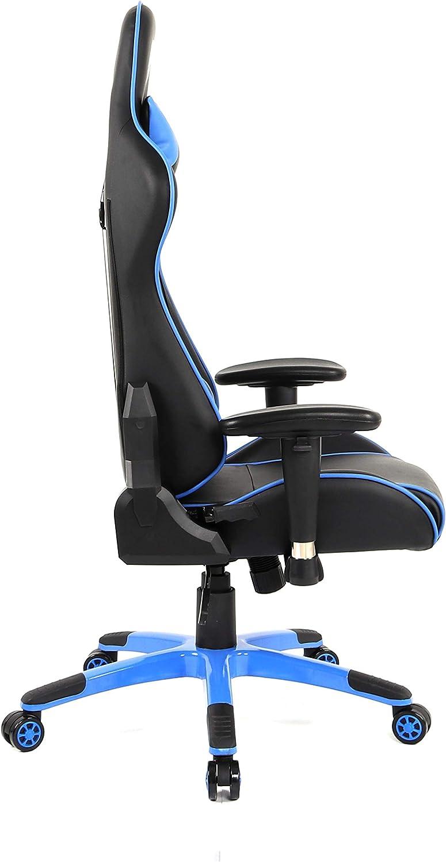 1337 Industries - Chaise Gaming 1337 Gc767/Bc V2 Bleu