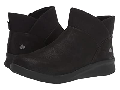 Clarks Sillian 2.0 Dusk (Black Synthetic Nubuck) Women
