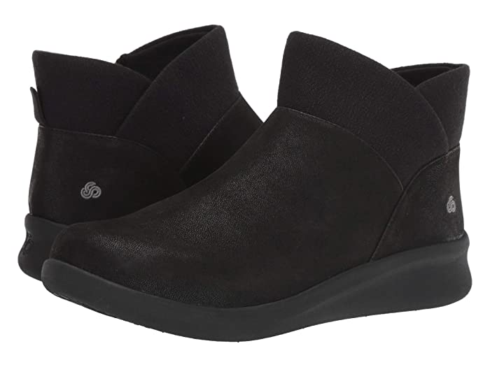Clarks  Sillian 2.0 Dusk (Black Synthetic Nubuck) Womens  Boots