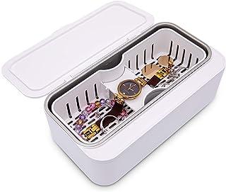 LuxRoom 超音波洗浄機 500ml 大容量 45000Hz 強力振動 メガネ 時計 貴金属 入れ歯 シェーバー 日用小物 花粉対策 日本語説明書付