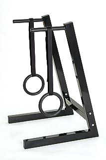 IROTEC(アイロテック)NEWディップ&ハンギングスタンド/コンパクト設計 ディップス 吊り輪トレーニング