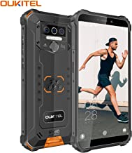 "OUKITEL WP5 (2020) Rugged Cell Phone Unlocked, Android 10 Smartphone 8000mAh Battery IP68 Waterproof, 5.5"" HD+ 4GB 32GB Fa..."