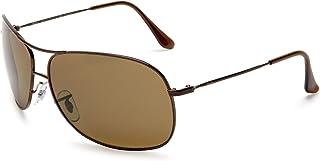 RB3267 Metal Polarized Aviator Sunglasses