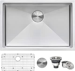 Ruvati 28-inch Undermount 16 Gauge Tight Radius Stainless Steel Kitchen Sink Single Bowl..