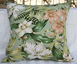 TangDepot Set of 2 100% Cotton Floral/Flower Printcloth Decorative Throw Pillow Covers Cushion Covers - (20