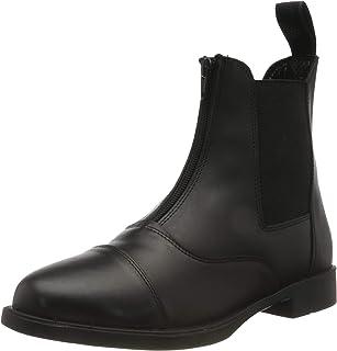 Rhinegold Boston Zip Front Leather Paddock Boot