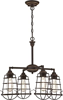 Westinghouse Lighting Iluminazione interiore 60 W, Bronzo lucidato a Olio