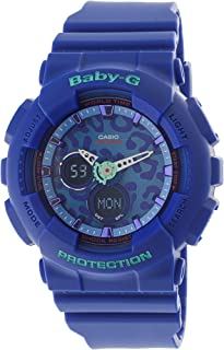Casio Baby-G Animal Print Graphic Dial Resin Quartz Ladies Watch BA120LP-2ADR