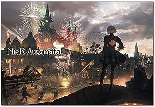 Printing Pira - Nier Automata Theme Park 2B 9S Poster (11x17)