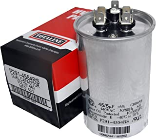 Totaline P291-4553RS Replacement 45 5 uf/Mfd 370/440 VAC Universal Capacitor