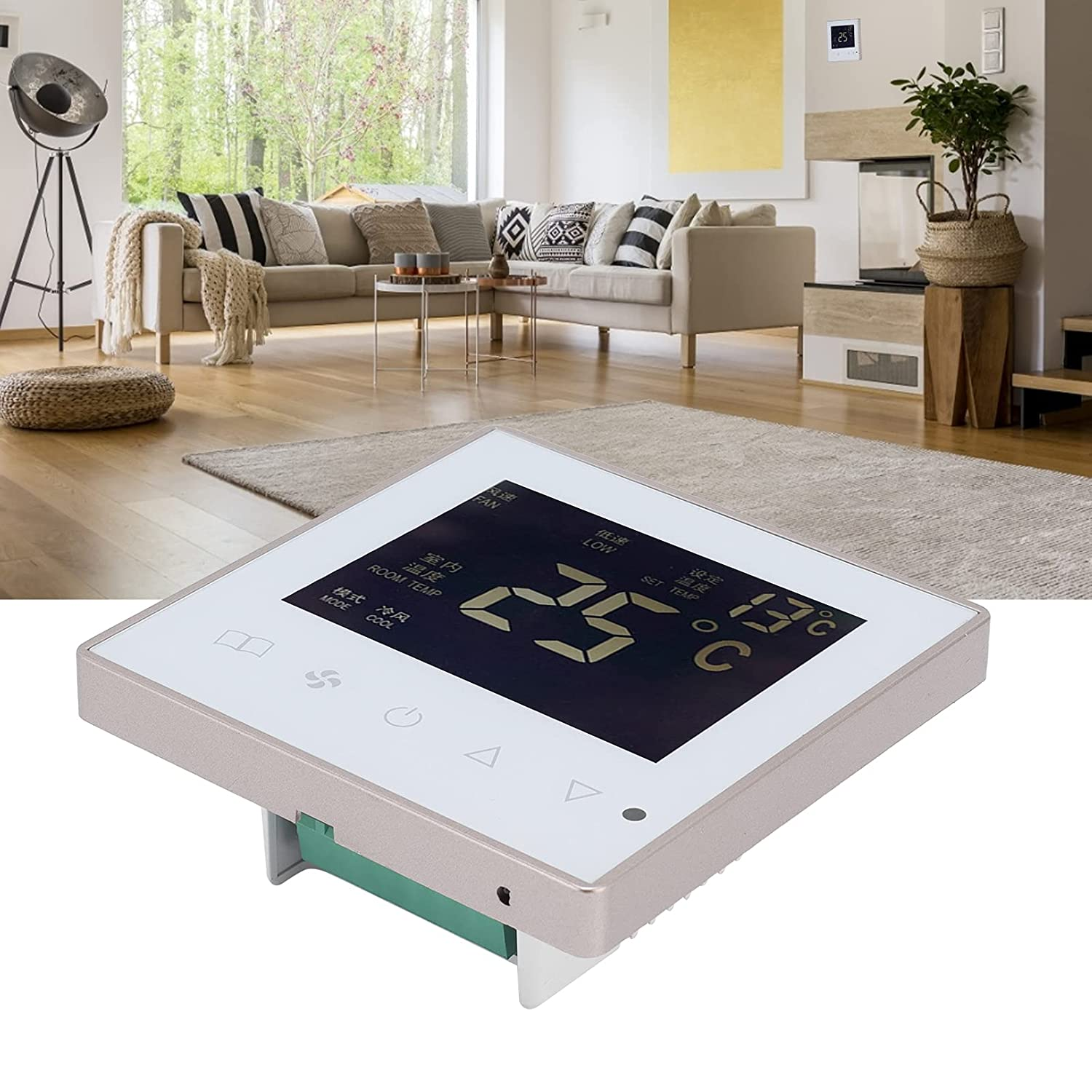 Electric Thermostat, Multi-Mode Thermostat NTC Convinient Intell