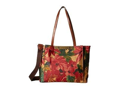 Patricia Nash Silvi Travel Tote (Spring Multi) Handbags