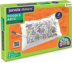Jungle Magic Doodle Artz Music, White