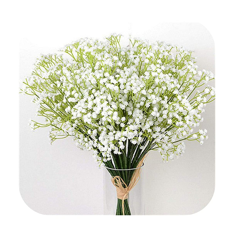 ルーフプレビュー舗装するsexy-kawayi DIY人工ブーケ装飾カスミソウ植物スターフラワー結婚式造花家の装飾偽カスミソウ-10pcs-