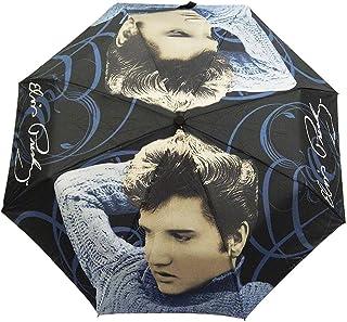 Elvis Presley Foldable Umbrella Blue Sweater