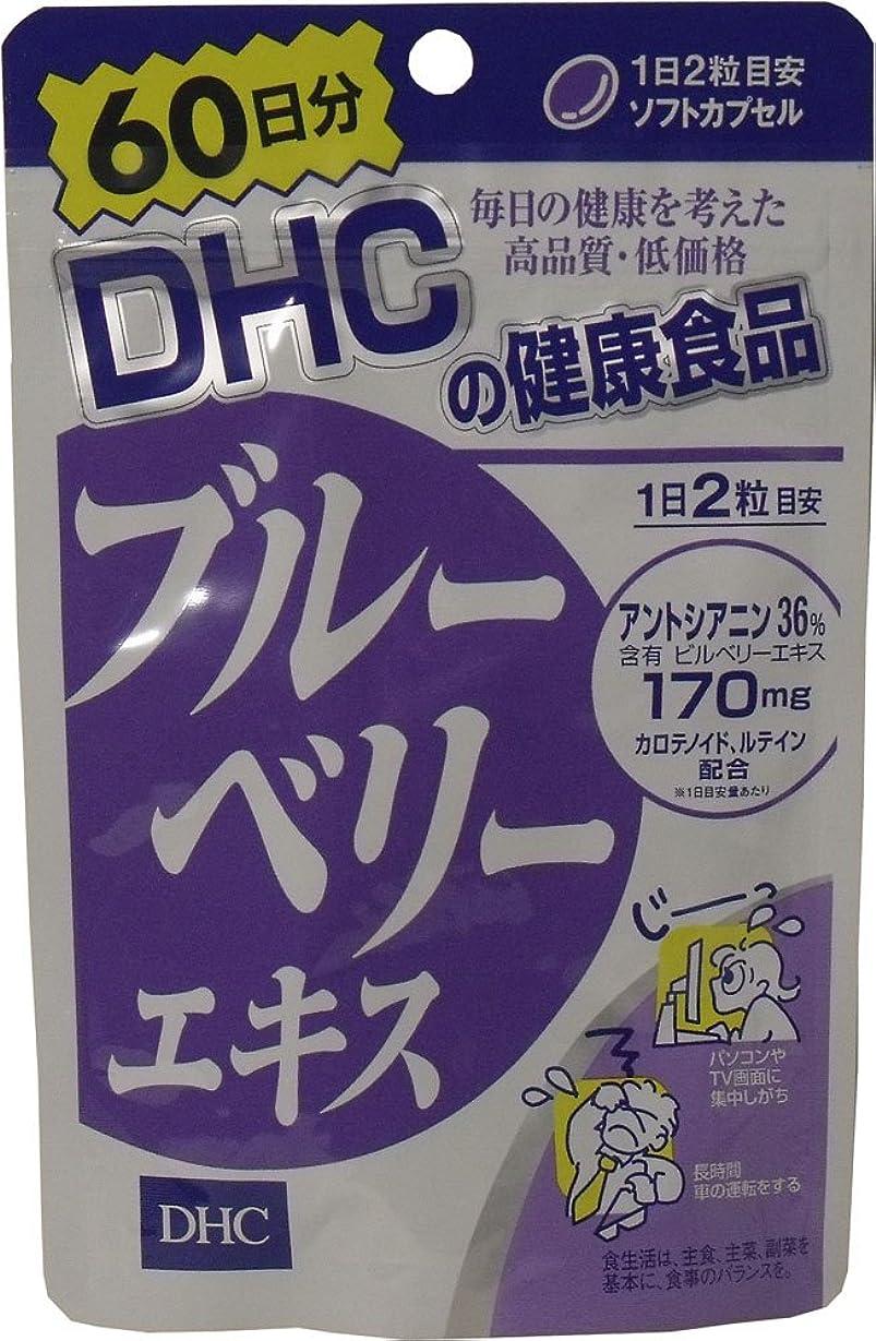 恐ろしい黒板ジュラシックパークDHC ブルーベリーエキス 60日分 120粒 ×6個セット