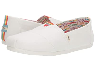 TOMS Seasonal Classics (White Unity Canvas) Men