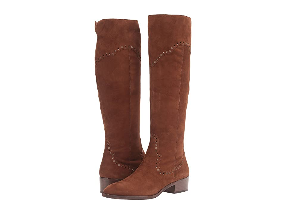 Frye Ray Grommet Tall (Wood Suede) Women