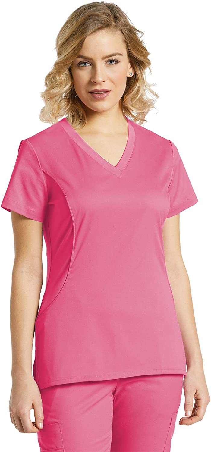 Allure Side Panel TopPink Cocktail,XS