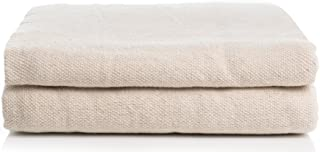 Simpli-Magic 79109 Canvas Drop Cloth 2 Pack (Size 9' x 12') for All Purpose Use, Ideal for Floor Protection, Curtains, DIY...