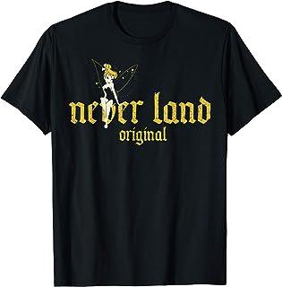 Disney Peter Pan Tinkerbell & Never Land Original Maglietta