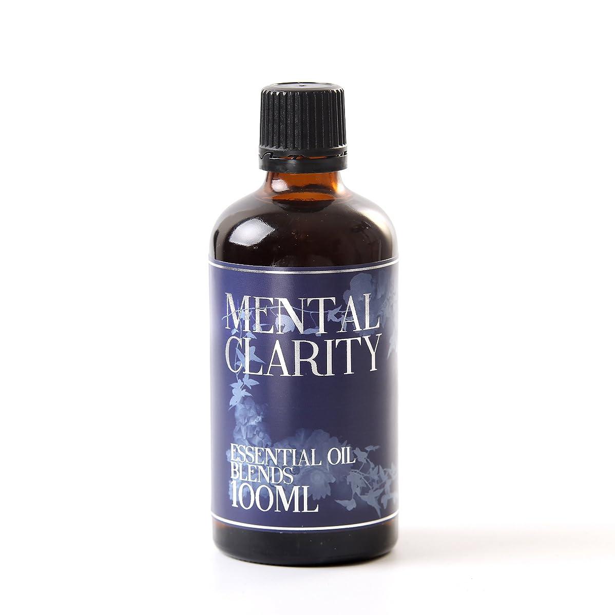 作るハント分数Mystic Moments   Mental Clarity Essential Oil Blend - 100ml - 100% Pure