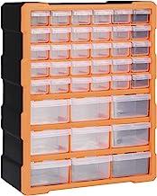 pedkit Organizador Multicajones Organizadores de Herramientas Caja de Almacenamiento Armario de Herramientas con 39 Cajone...