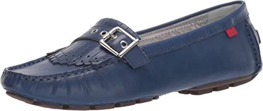 MARC JOSEPH NEW YORK Womens Genuine Leather South Street Kilt Loafer Driving Style