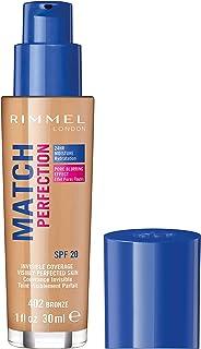 Rimmel London, Match Perfection Foundation, Bronze, 30 ml