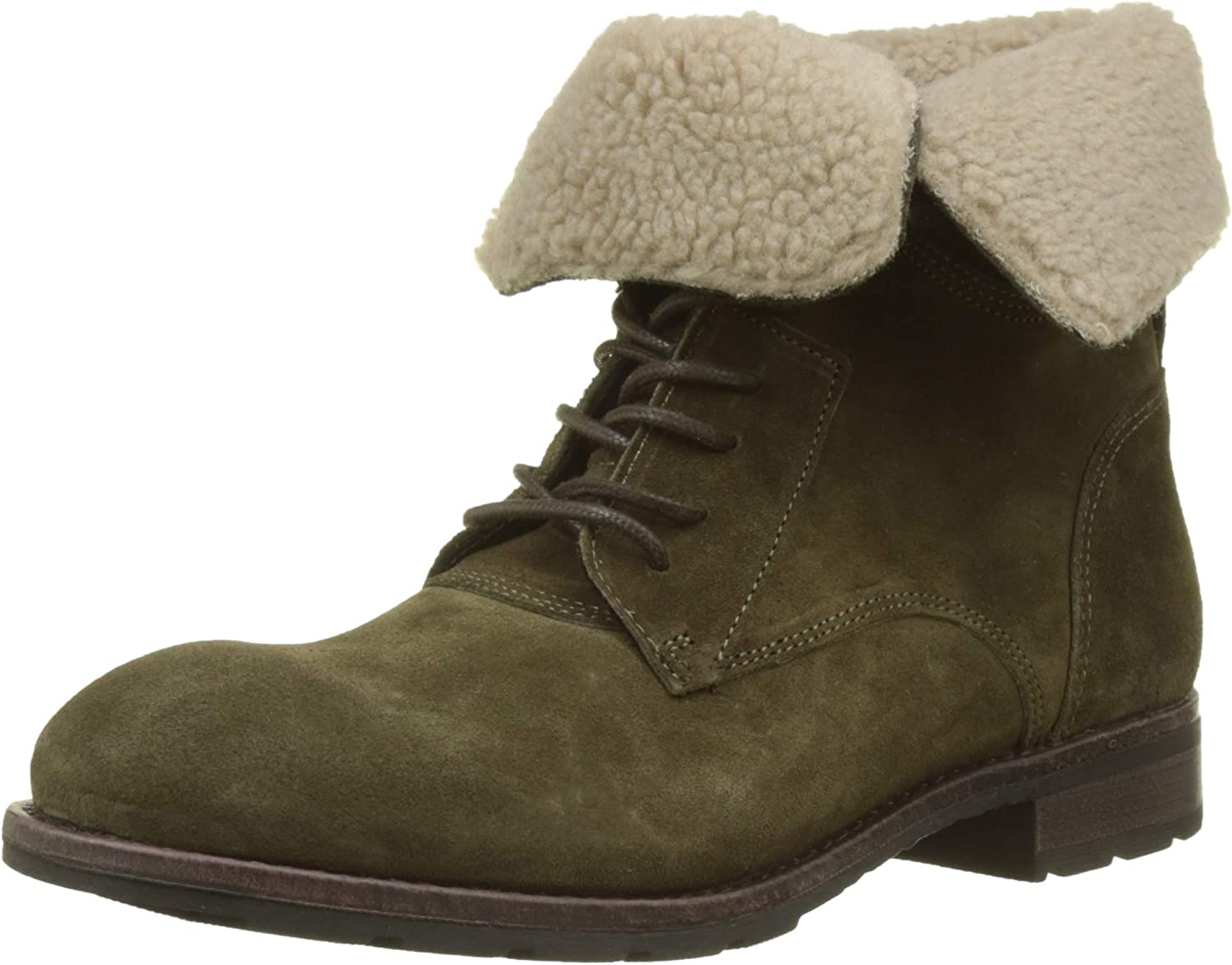 Sebago Men's Suede Boots Green