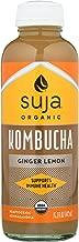 Suja Suja Organic Ginger Lemon Kombucha,, 15.2 Fl Oz (pack Of 6)