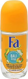 Fa - Desodorante Roll-On Bali Kiss - Con fragancia de mango