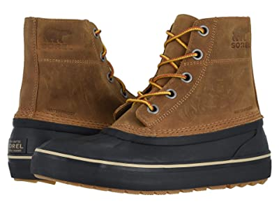 SOREL Cheyannetm Metro Lace Waterproof (Elk/Black) Men