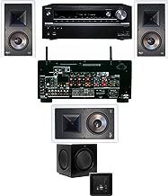Klipsch KL-7800-THX 3.1 In-Wall-SW-310-Onkyo TX-NR838 7.2 Channel- White