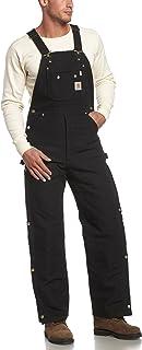 Carhartt Men's Big & Tall Quilt Lined Zip To Thigh Bib Overalls R41